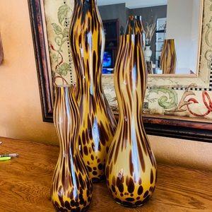 Glass Blown Vases